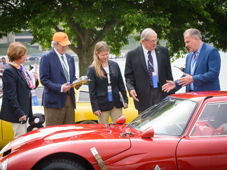 2021 Greenwich Concours officials